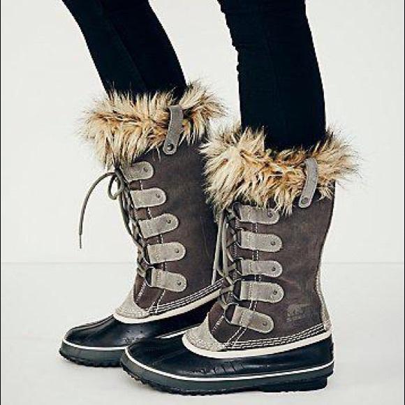 ccd47be342f3 Sorel Women s Joan of Arctic Boot Quarry size 7. M 5afcf975a825a64db0622ba3